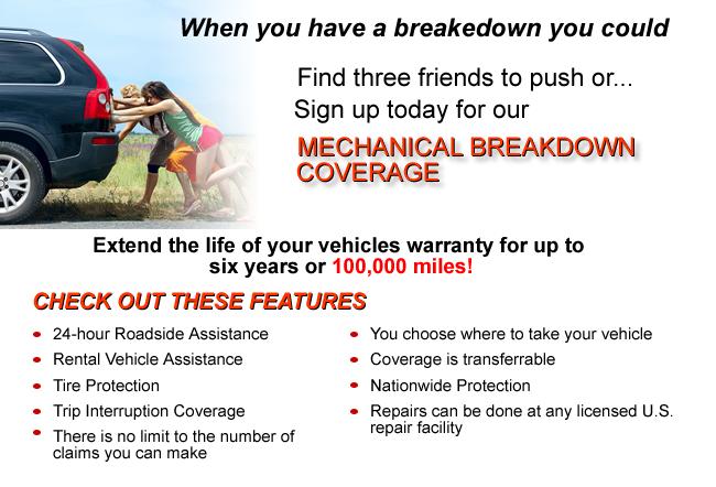 Auto Warranty Companies For Dealers: Auto Breakdown Coverage